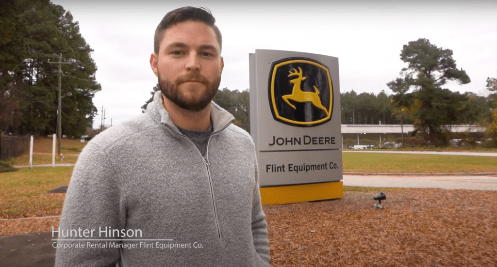 Flint Equipment (John Deere) Equipment Rental Record360 Case Study