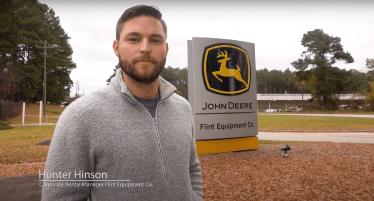 Hunter Hinson, Corporate Rental Manager, Flint Equipment Co