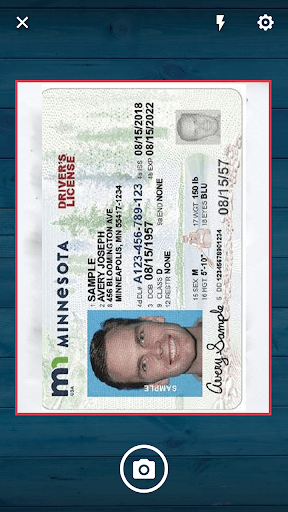 Driver's license from the state of MN.